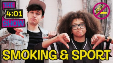 Jimmy investigates smoking and sport