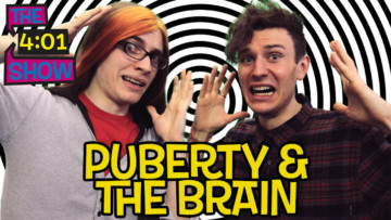 Can puberty affect your head as well as your body?